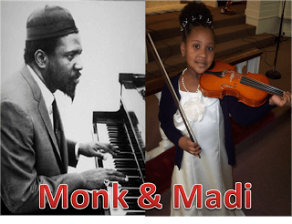 Amadi (pictured here at age 7) loves music but isn't feeling the flatted fifth.