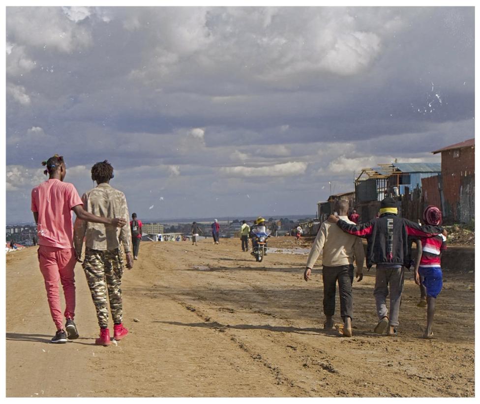 walking image nairobi